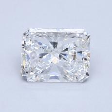 Pierre recommandée n°1: Diamant taille radiant 1,03 carats