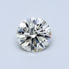 Recommended Stone #1: 0.58-Carat Round Cut Diamond