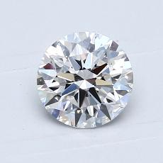0,70-Carat Round Diamond Ideal D VS1