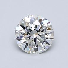 0.90 Carat 圓形 Diamond 理想 D VVS2