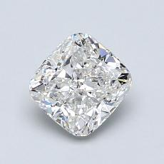 1.11-Carat Cushion Diamond Very Good F IF