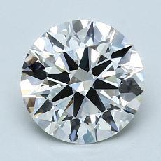 2.09 Carat 圓形 Diamond 理想 G VS1