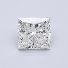 0.93-Carat Princess Diamond Very Good D VS1