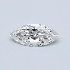 0.33 Carat 榄尖形 Diamond 非常好 E VS2