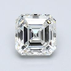 1.30-Carat Asscher Diamond Very Good I VS1