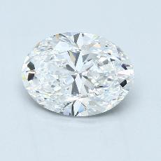 推荐宝石 3:2.62克拉椭圆形切割钻石