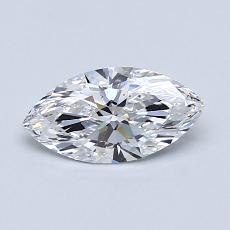 Recommended Stone #1: 0,60-Carat Marquise Cut Diamond