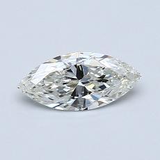 推荐宝石 3:0.44 克拉马眼形钻石