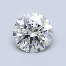1,10-Carat Round Diamond Ideal I SI1