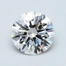 1.21 Carat Redondo Diamond Ideal H VVS2