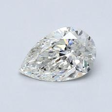 0.70 Carat Pera Diamond Muy buena J SI1