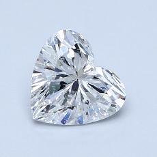 Recommended Stone #2: 1,02-Carat Heart Cut Diamond