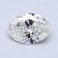 4.01 Carat 橢圓形 Diamond 非常好 F VS2