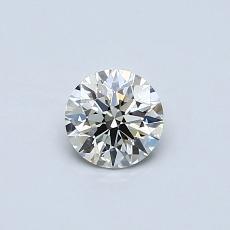 0.40-Carat Round Diamond Very Good K SI1