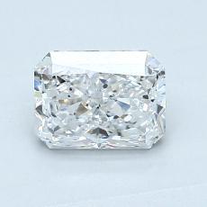 0.95-Carat Radiant Diamond Very Good D SI2
