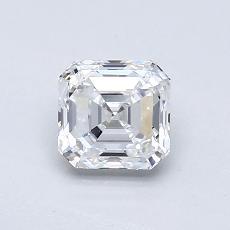 Pierre recommandée n°2: Diamant taille Asscher 0,75 carat