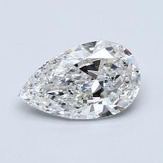 推荐宝石 4:0.80 克拉梨形切割钻石