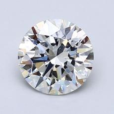 1,40-Carat Round Diamond Ideal H VS1
