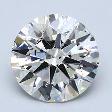 Recommended Stone #1: 2.21-Carat Round Cut Diamond
