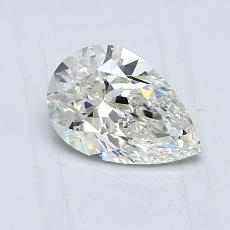 0.70 Carat 梨形 Diamond 非常好 J VVS2