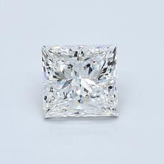 0,70-Carat Princess Diamond Very Good F VS2