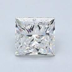 Recommended Stone #3: 1.50-Carat Princess Cut Diamond