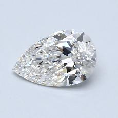 Recommended Stone #2: 0.81-Carat Pear Cut Diamond