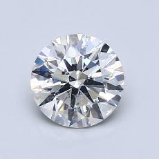 1.03 Carat 圆形 Diamond 理想 G SI2