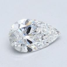 推薦鑽石 #1: 1.20 克拉梨形鑽石