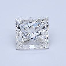 0.91-Carat Princess Diamond Very Good G VS1