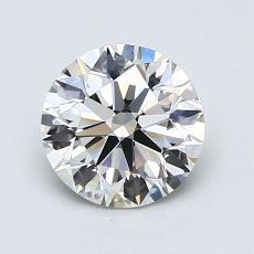 0,90-Carat Round Diamond Ideal H VS2