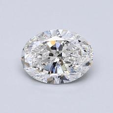 0.70-Carat Oval Diamond Very Good E SI2