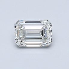 推荐宝石 1:0.66 克拉祖母绿切割钻石
