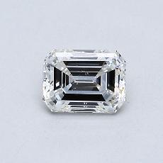 Recommended Stone #1: 0,47-Carat Emerald Cut Diamond