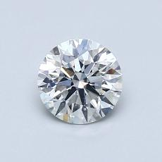 Recommended Stone #4: 0.66-Carat Round Cut Diamond