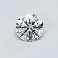 0,50 Carat Rond Diamond Idéale F VS2