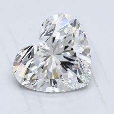Recommended Stone #2: 1,21-Carat Heart Cut Diamond