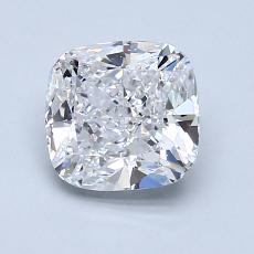 1.53-Carat Cushion Diamond Very Good D SI1