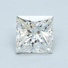 1.01-Carat Princess Diamond Very Good G VVS1