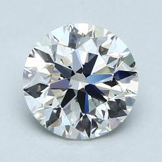 1.50 Carat 圓形 Diamond 理想 G VS1