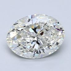 1.70-Carat Oval Diamond Very Good H VS1