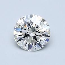 0.90 Carat Redondo Diamond Ideal I VS2