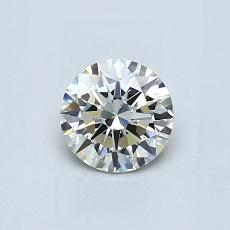 0.55 Carat Redondo Diamond Ideal I SI2