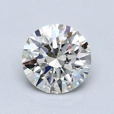 0.75-Carat Round Diamond Ideal J VS1