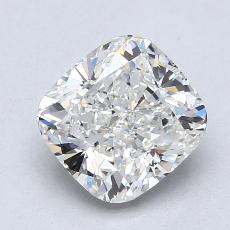 2.01-Carat Cushion Diamond Very Good G VS1