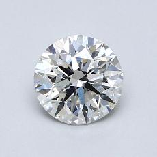 0,90 Carat Rond Diamond Idéale F VS1