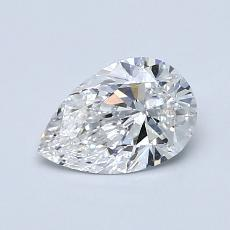 0.70-Carat Pear Diamond Very Good E VS2