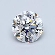 1.00-Carat Round Diamond Very Good F VVS2