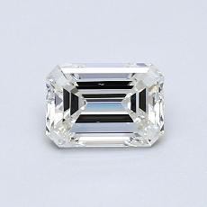 Recommended Stone #3: 0.64-Carat Emerald Cut Diamond