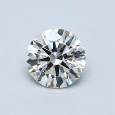 Recommended Stone #3: 0.65-Carat Round Cut Diamond